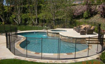 Plan Pool Fence Ideas