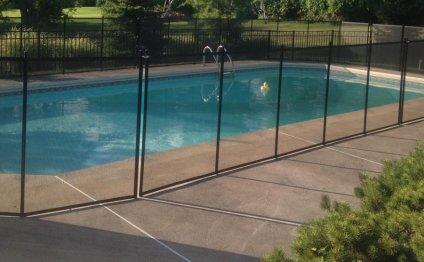 On a pool fence price via
