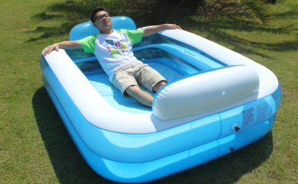 Image of: Inflatable Swimming
