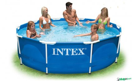 Intex Swimmimg Pool With