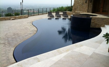 Pool cleaning, orange county