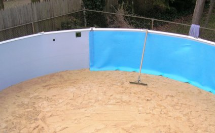 Swimming Pool Protective Wall