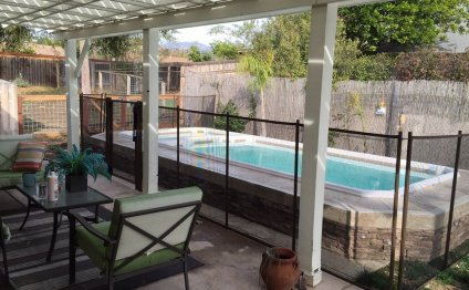 Viking Pool Fence - San Diego