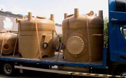 Split sand filter DN1800