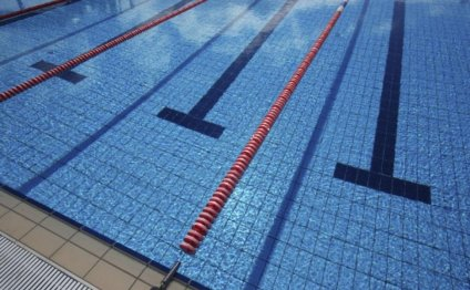 The swimming pool at