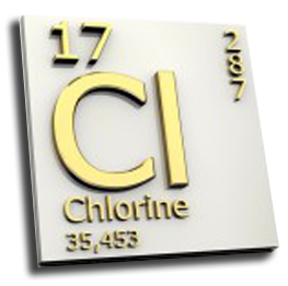 element of chlorine -