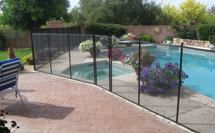 Removable pool Fences