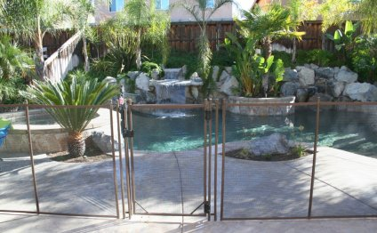 Pool Fence removable