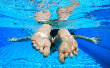 What is in swimming pool water?