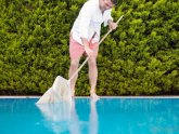 Cleaning, swimming Pool