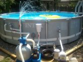 How to vacuum pool with sand filter?