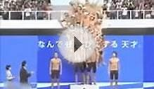Amazing n Shocking: Chinese swimmers together dive in pool