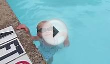 "Baby Swims Across Pool ""Part 2"""