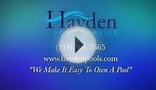 Dallas Pool Service, Maintenance & Repair - Hayden Pool
