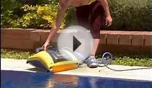 "Dolphin ""Swash"" - domestic pool cleaning robot"