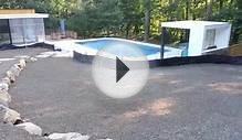 Frameless Glass pool fences new York - new jersey
