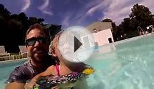 Girls Swim in The Swimming Pool - Kids Prank Dad