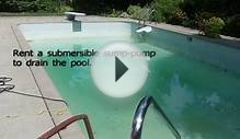 How to acid wash and paint a concrete pool.