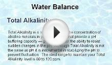 How to Balance your SWIMMING POOL Water
