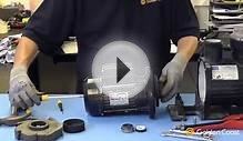 How to change a shaft seal on a swimming pool pump