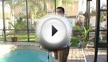 How to Clean Swimming Pools : How to Brush Swimming Pool Tile