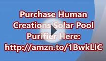 Human Creations Solar Pool Purifier With Copper and Ions