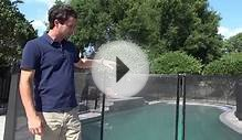 Installing A Pool Protection Fence System