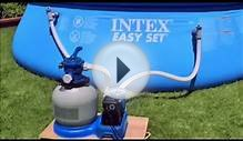 Intex 1200, 1600 and 2650 Sand Filter Pump Setup Instructions