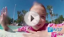 Kids Swimming in The Pool - Funny Prank - Girls Gymnastics