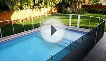 Pool fence self closing gate video web