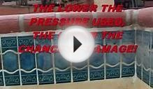 Pool Tile Cleaning WITHOUT Damaging Pool Tile! You have to