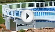 Premium Guard Above Ground Swimming Pool Safety Fence KIT