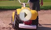 Walk Behind Sand & Bunker Cleaner: Barber Radius
