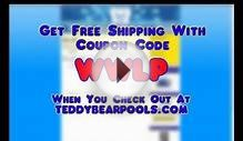web ad for teddy bear pools & spas